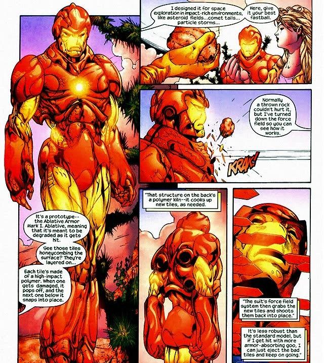 Iron Man y sus armaduras bizarras