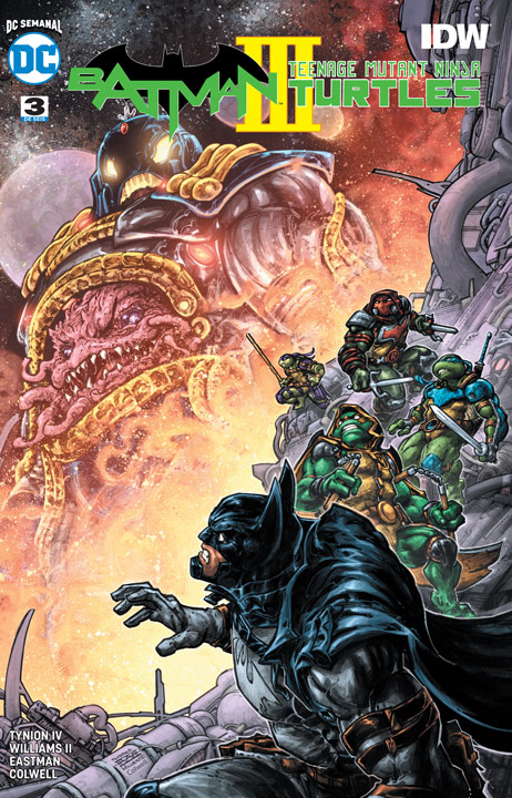 DC Semanal: Batman/Teenage Mutant Ninja Turtles III #3 (de 6)