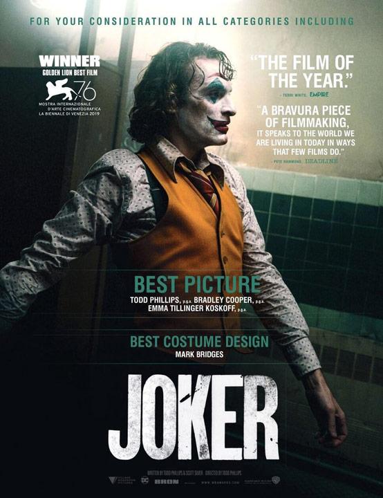 Joker arranca su campaña rumbo a los Oscares 2020