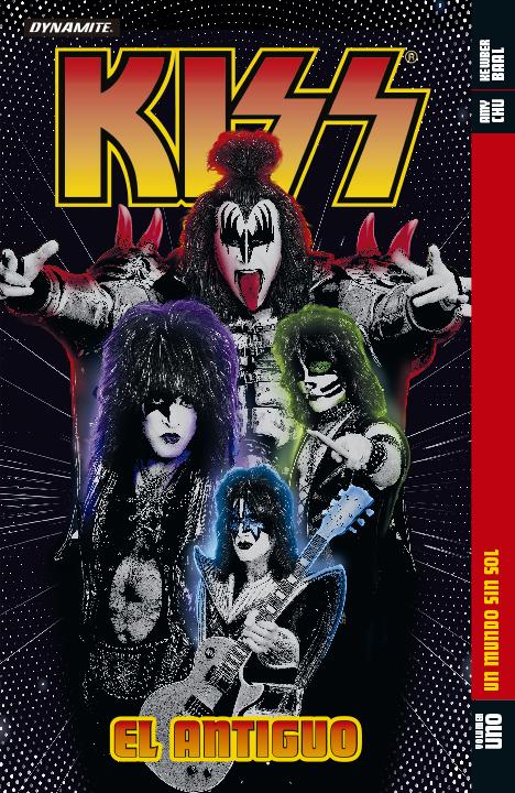 Kiss: El Antiguo Vol. 1: Un Mundo sin Sol