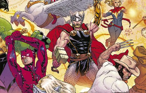 Marvel Aventuras The War of the Realms