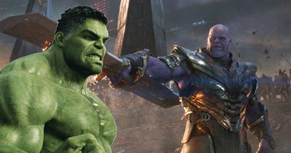 Hulk sí tenía su revancha contra Thanos en Avengers: Endgame