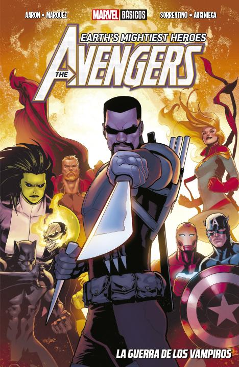 The Avengers Earth's Mightiest Heroes: La Guerra de los Vampiros