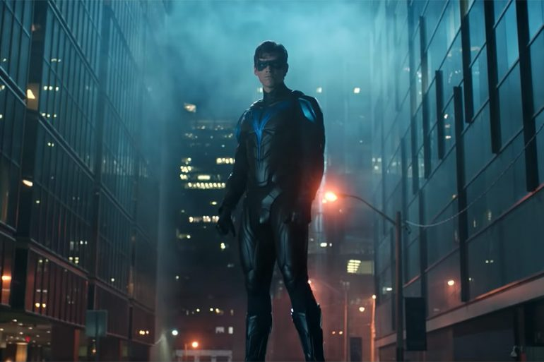 ¡Nightwing debutará en el final de temporada de Titans!