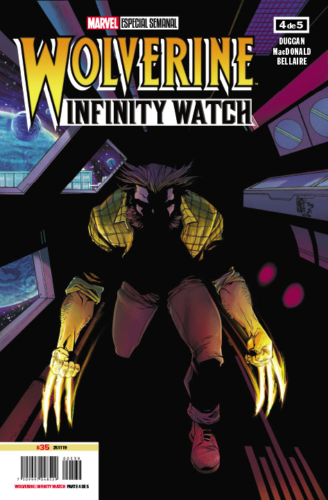 Wolverine Infinity Watch #4 (de 5)