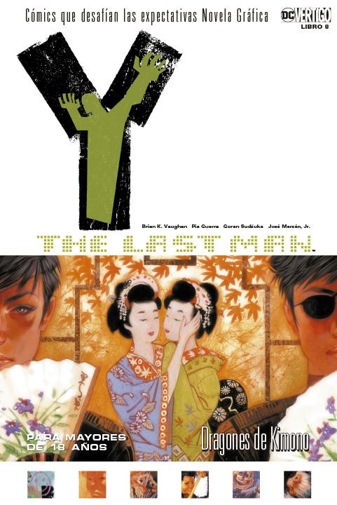 Y: The Last Man Libro 8: Dragones de Kimono