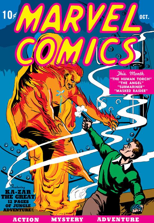 Marvel Aventuras Poster Book 80 Aniversario