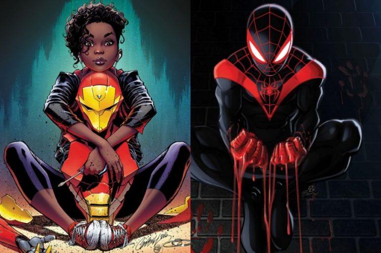 Nuevos personajes creados en la década por Marvel Comics