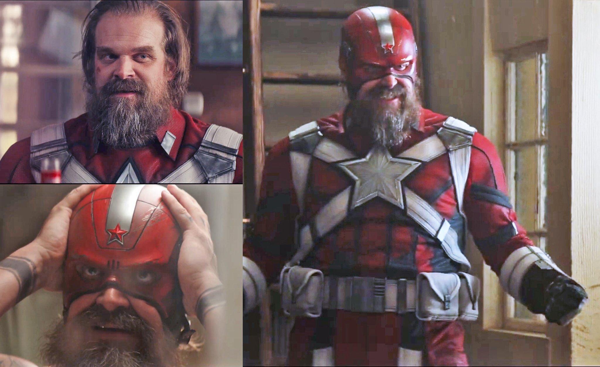 Primer vistazo a los personajes de la película Black Widow