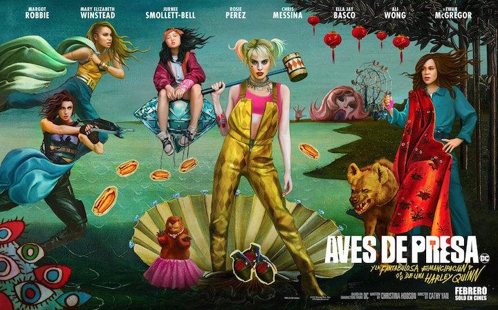 Birds of Prey estrena nuevo póster previo al tráiler final