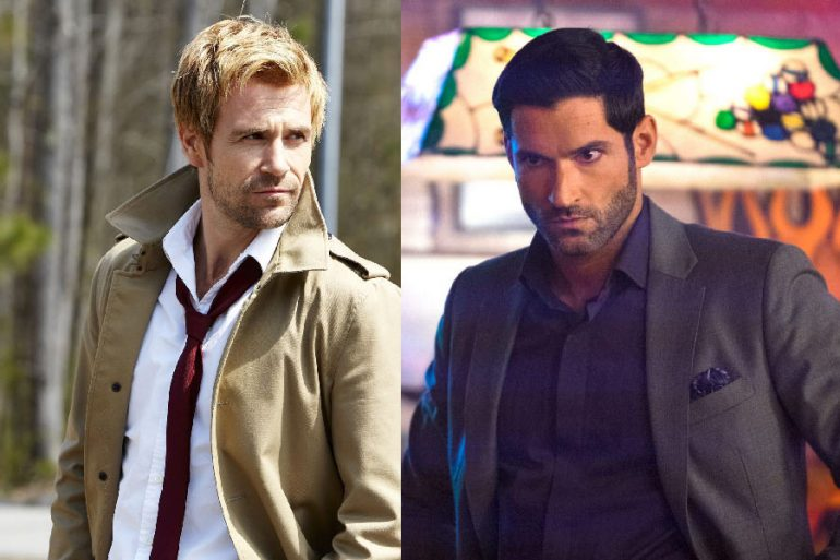 Lucifer y Constantine se encuentran en el Arrowverse
