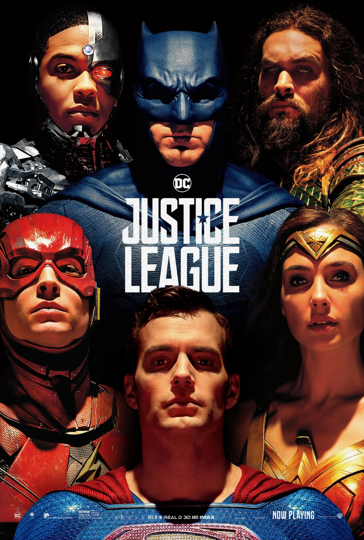 Justice League póster cine