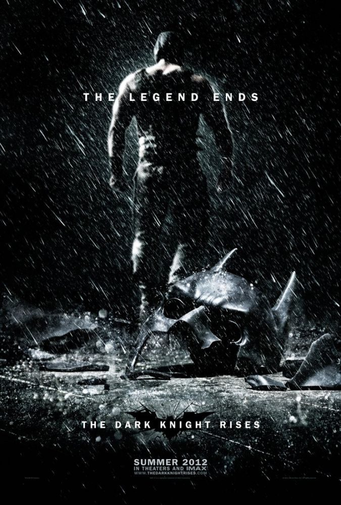 The Dark Knight Rises póster cine