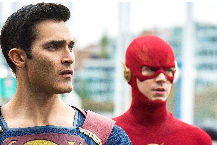 Grant Gustin se emociona cada vez que aparece Superman en el set