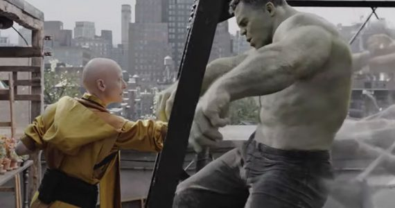 Revelan escena alternativa de Hulk y Ancient One en Avengers: Endgame