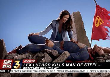 ¿Así será La Muerte de Superman en Crisis en las Tierras Infinitas?