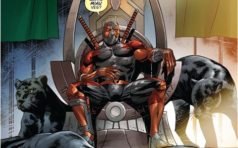 Black Panther VS Deadpool #3
