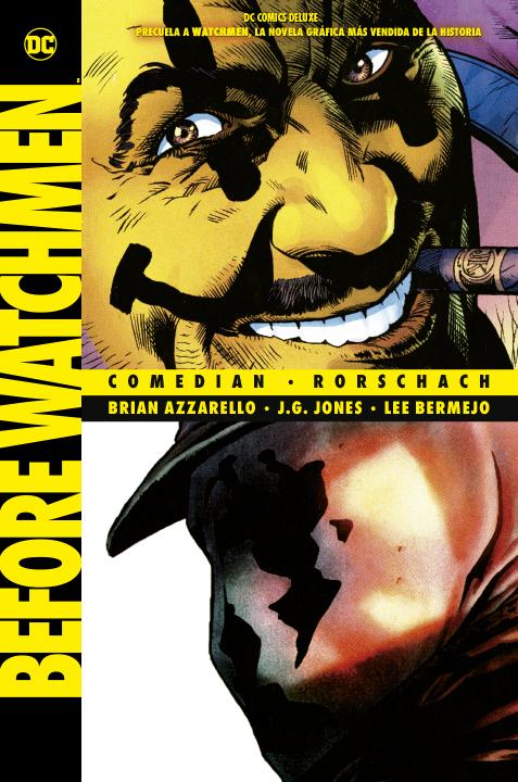 DC Comics Deluxe Before Watchmen: Comedian/Rorschach