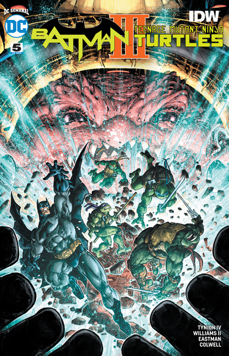 DC Semanal: Batman/Teenage Mutant Ninja Turtles III #5