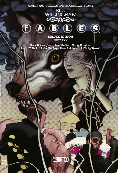 DC Vertigo Deluxe Fables Libro Dos