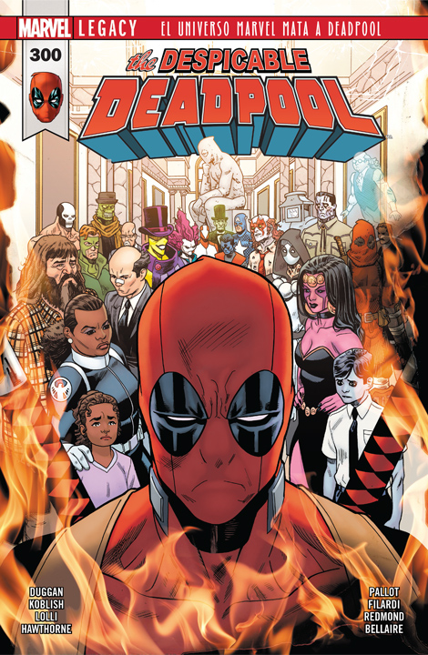The Despicable Deadpool #300