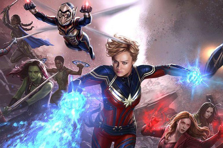 Las heroínas en Avengers: Endgame reunidas en un arte conceptual