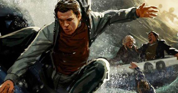 Arte conceptual de Spider-Man: Far from Home que no llegó al cine