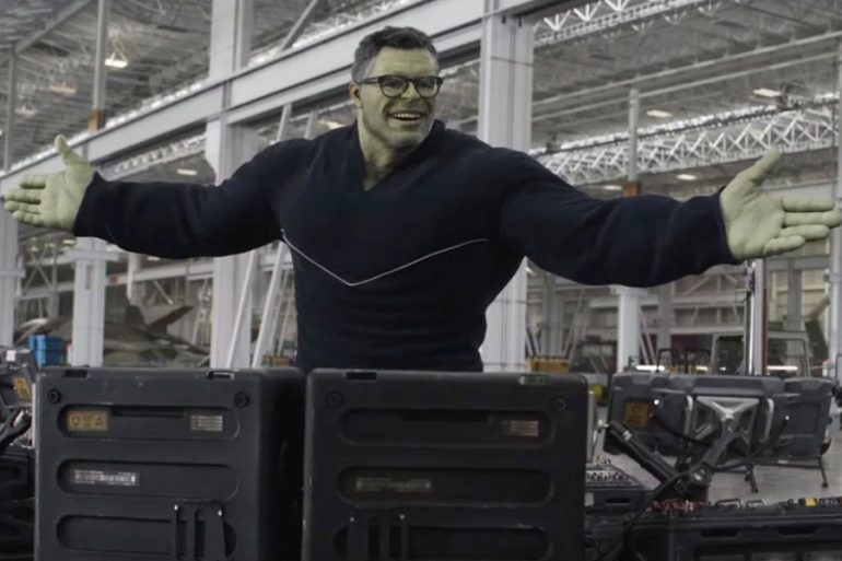 Así se hubiera visto el Professor Hulk en Avengers: Endgame