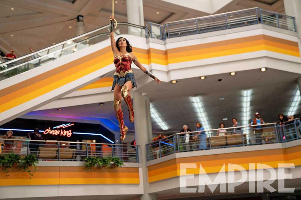 Wonder Woman 1984 presenta nueva y espectacular imagen