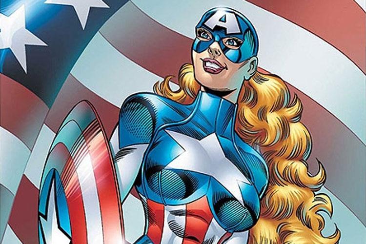 Mujeres que asumieron el manto del Capitán América