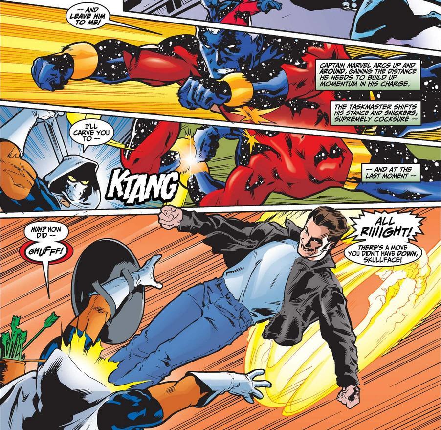 Top 5: Maneras que han vencido a Taskmaster en los cómics de Marvel