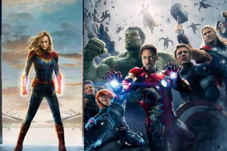 Captain Marvel hubiera debutado en Avengers: Age of Ultron