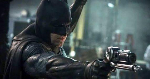 Así fue el primer diseño del traje para Ben Affleck en Batman v Superman