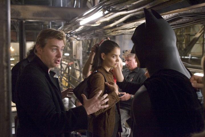 Revelan inédito detrás de cámaras de Batman Begins