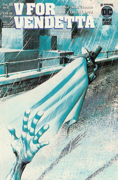 DC Semanal: V for Vendetta VII de X
