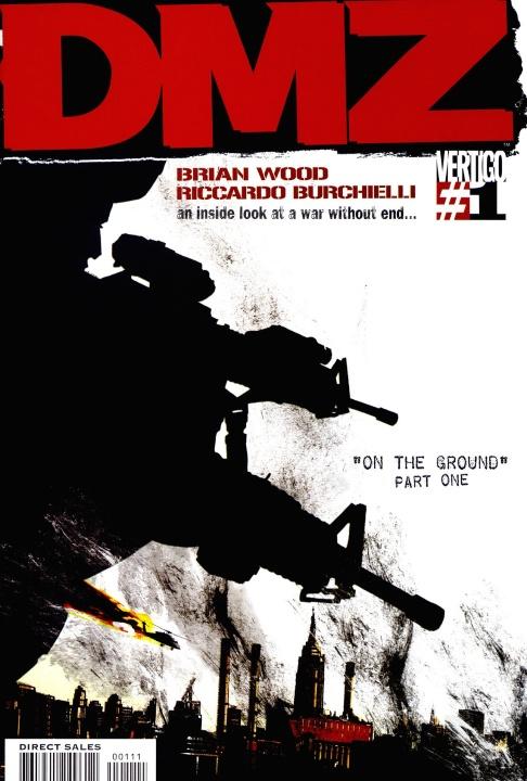 DMZ saltará de los cómics a la TV con Rosario Dawson