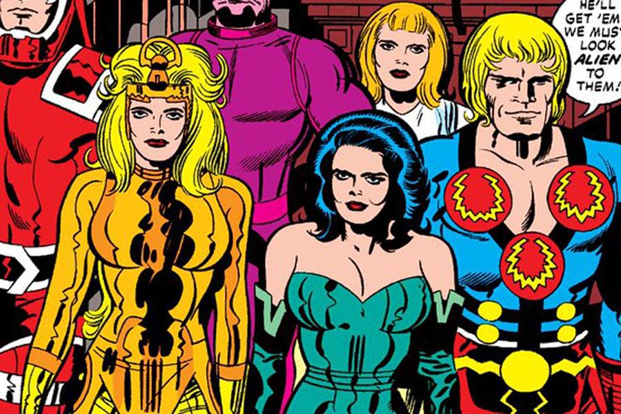 Sinopsis de The Eternals, que conectará con Avengers: Endgame