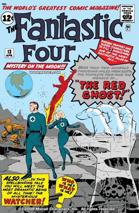 Las aventuras de Fantastic Four aterrizaron en el radio en 1975