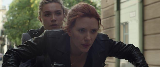 Dos nuevos vistazos a Black Widow: poderosas imágenes