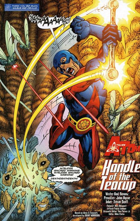 Justice League planeaba presentar a The Atom