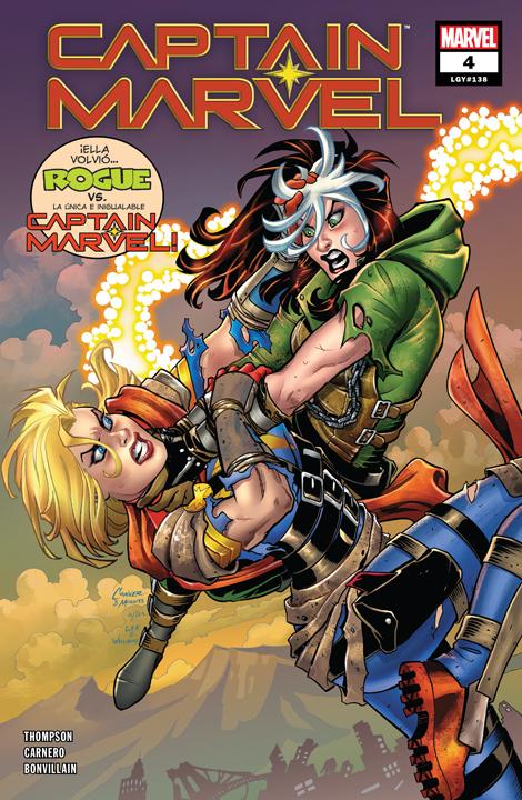 Captain Marvel 2 llevaría al MCU a Mystique y Rogue