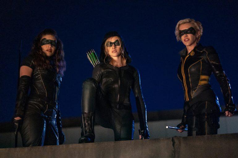 Liberan las primeras imágenes de Green Arrow and the Canaries