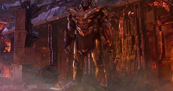 Thanos iba a utilizar un hacha en Infinity War