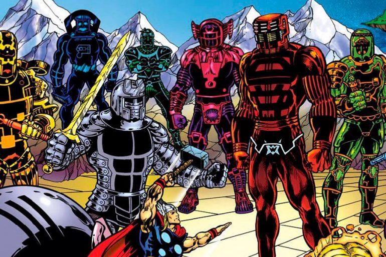 The Eternals: Marvel ofrece nuevo vistazo de los Celestials