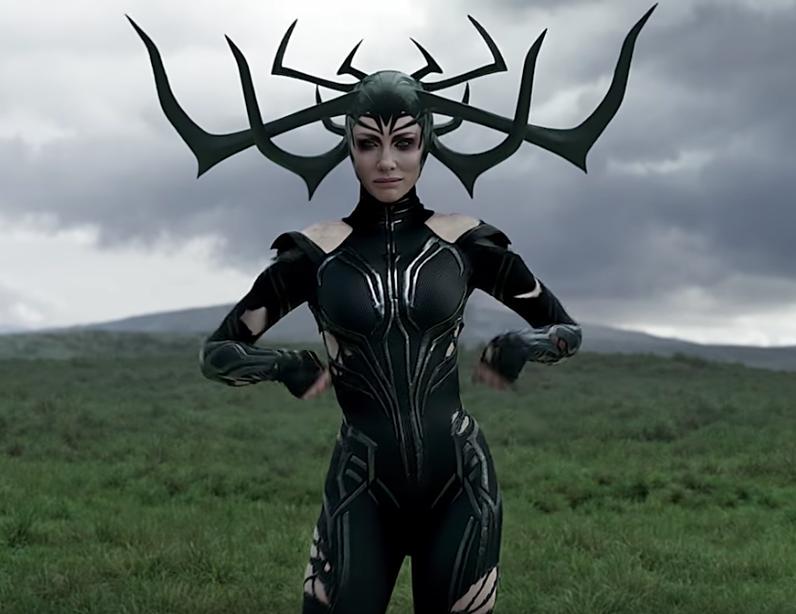 Escena eliminada de Thor: Ragnarok introducía a Hela de otro modo