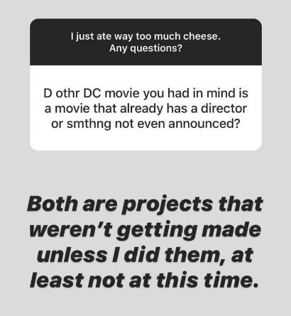 James Gunn tiene en mente hacer dos películas más en el DCEU