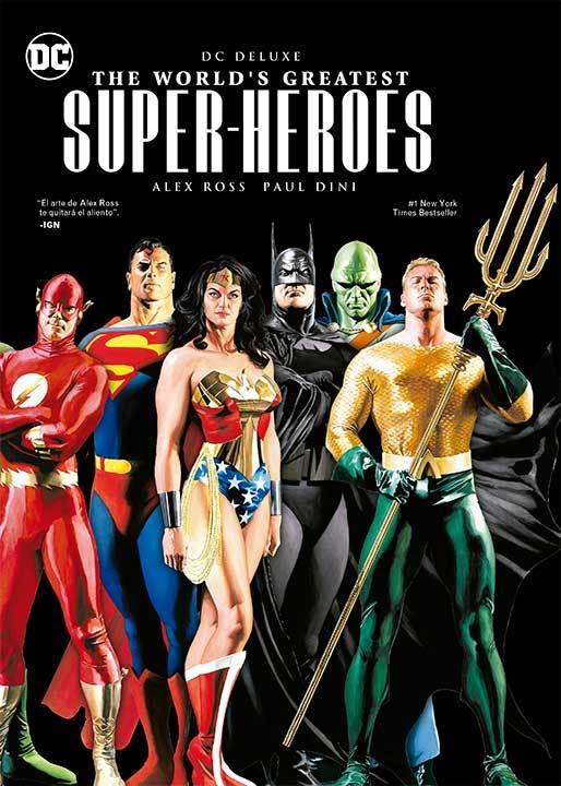 El homenaje de Alex Ross a diferentes películas y series de DC Comics