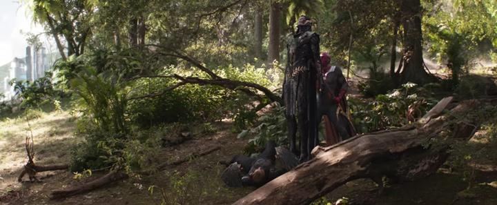 La pelea de Vision y Corvus Glaive pudo ser diferente en Avengers: Infinity War