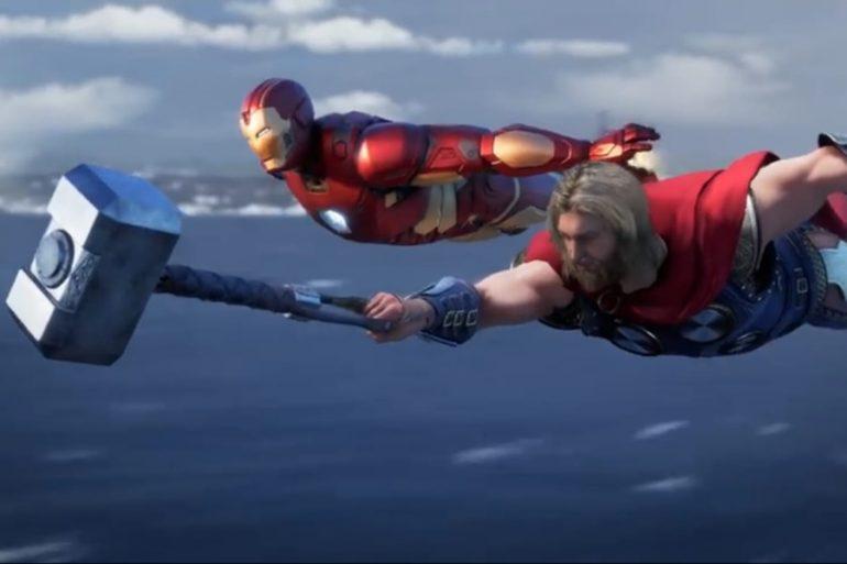 ¡Emocionate con un nuevo tráiler del videojuego The Avengers!