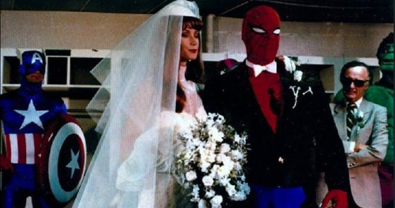 La boda de Spider-Man y Mary Jane en el estadio de los Mets en 1987